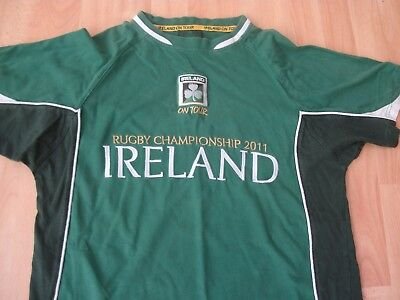 Ireland New Zealand 2011 Tour Rugby Football T-Shirt Jersey Top Small Adult