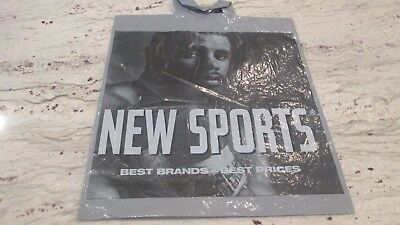 "New- Lebron James- """"new Sports Shopping Bay Face Logo-2-Sided 15 1/2 X17"""