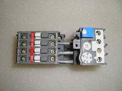 ABB A9-30-10 Contactor  with ABB TA25DU Overload Relay