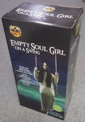 Spirit Halloween Sold Out For 2017 Empty Soul Girl On Swing Prop