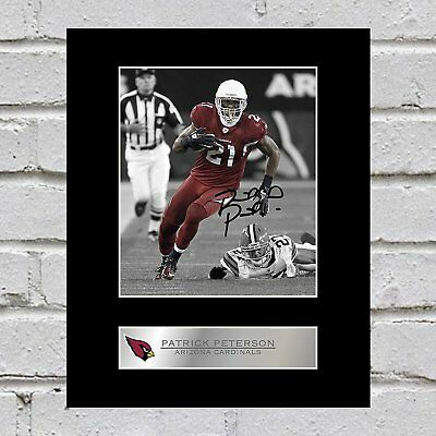Patrick Peterson Signed Mounted Photo Display Arizona Cardinals