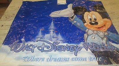"New- Walt Disney World-""where Dreams Come True"" Shopping 2-Sided Bag-24X28""'"