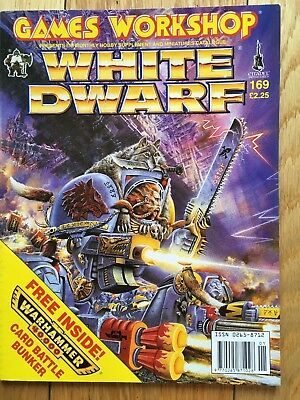 Games Workshop Warhammer White Dwarf Magazine 169 - Bunker sill in magazine