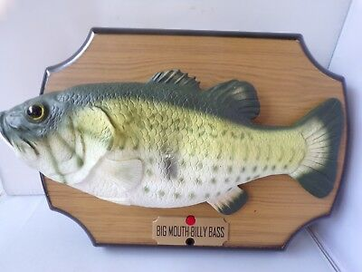 Big Mouth Billy Bass Animated Singing Fish