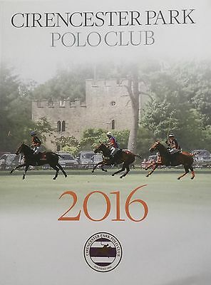 Cirencester Park Polo Club 2016 Official Members' Yearbook - Unread