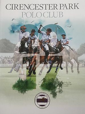 Cirencester Park Polo Club 2017 Official Members' Yearbook - New/unread