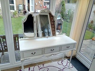 Antique Style Dressing Table French Shabby Chic