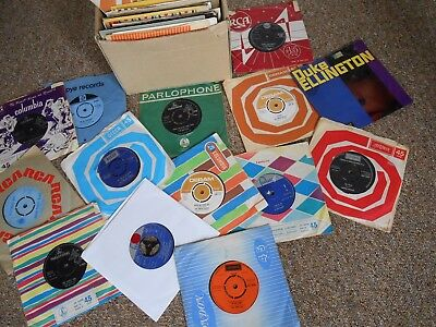 LARGE JOBLOT 1960sVINYL RECORD COLLECTION,BEATLES,STONES,,ECT 175 RECORDS