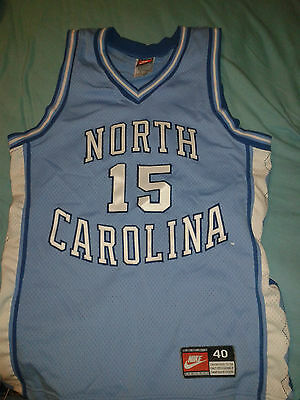 Nike North Carolina Authentic On Court Basketball Jersey 40 / M Jordan Carter