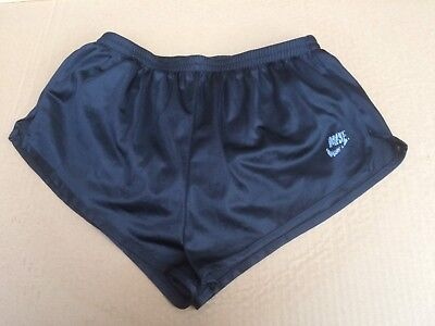 Vintage slinky Sprinter Shorts by Nike, Black, Size M
