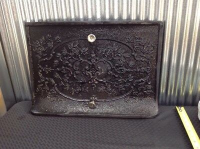 Antique Cast Iron Fireplace Summer Cover??  Victorian??
