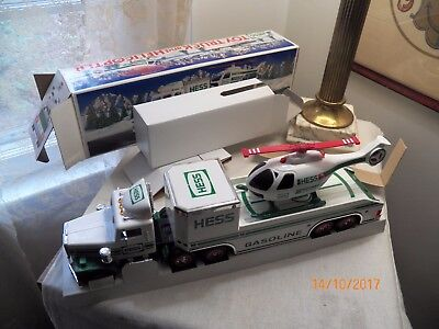 Hess Truck From 1995 Helicopter NEW IN BOX Never Used