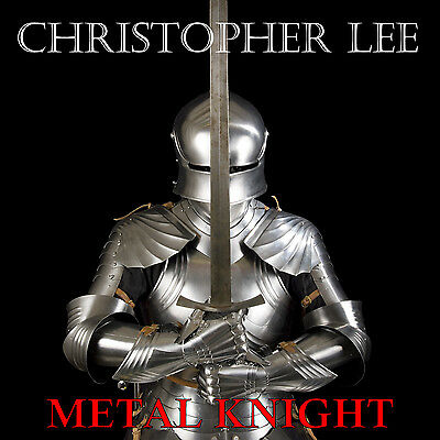 "Christopher Lee - Metal Knight (10"" picture disc / Brand New / Sealed / Deleted)"