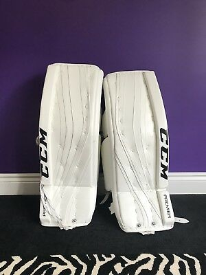 CCM Premier PRO Goalie Pads - Virtually NEW!