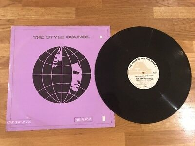 "Style Council - 3 Track 12"" Pre Release Promo Vinyl - The Jam - Paul Weller"