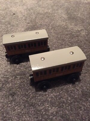 wooden thomas the tank engine train annie and clarabel