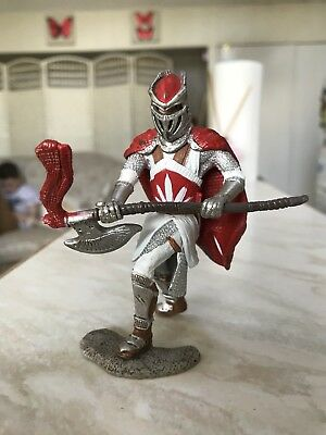 Schleich Red And White Knight With Axe