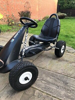 Kettler Pedal Go Kart with adjustable seat and hand brake