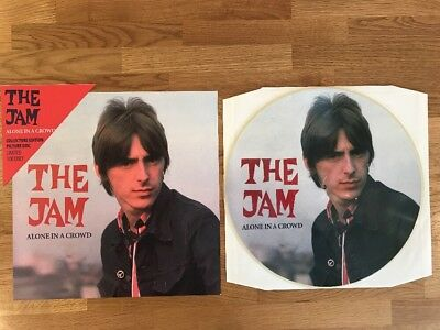 The Jam # Ltd 100 Pressed Picture Disc Vinyl Lp - Alone In A Crowd - Weller
