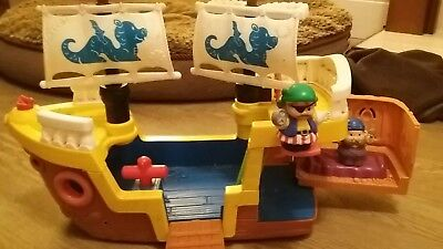 Litte People Pirate Ship with sounds  fisher price