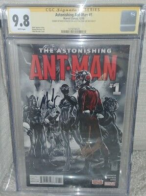 Astonishing Ant-man #1 CGC SS 9.8 signed by Stan Lee & Nick Spencer