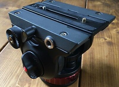 Manfrotto Pro Video Head - Flat Base