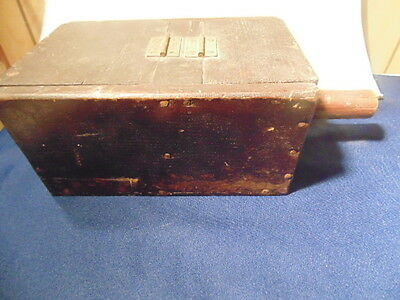 Antique Lodge Ballot Box,white/black Marbles. Masonic,ioof,dated 1905.
