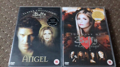 Buffy And Angel Dvd's