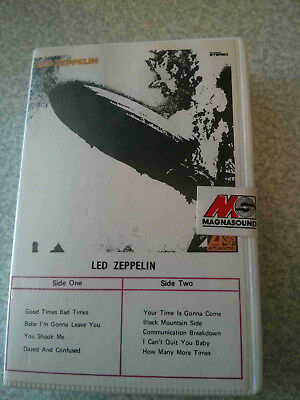 Indian Cassette tape Led Zeppelin Magnasound 1989