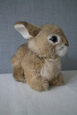 Steiff Dormili Rabbit, Sitting, soft toy, button number 2975/25, from late 80's