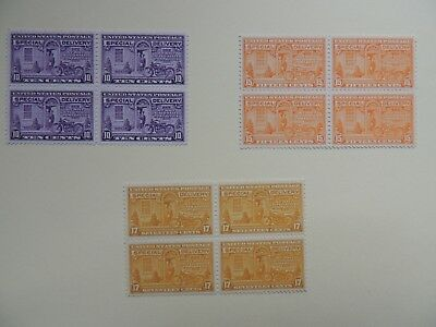 Usa stamps Back of Book Special Delivery Blocks