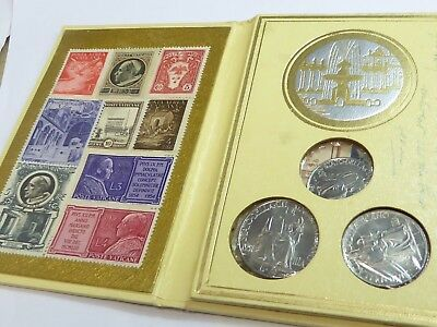 Vatican 1940s Coin & stamp souvenir folder