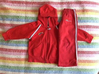 Rainbows Hoody And Trousers Size XS (5 Years)