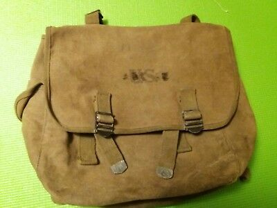 Ww2 musette m36 us originale daté 1943 airborne paratrooper no casque allemand