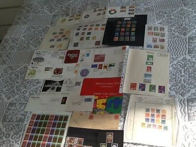 COLLECTION COVERS/1st DAY COVERS,SHEETS STAMPS,OLD POSTCARDS,ETC.