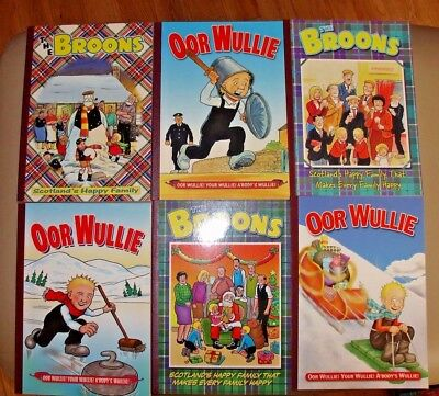 The Broons and Oor Wullie - The Naughties Collection - 11 Classic Annuals
