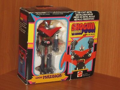 Great Mazinga - Shogun Warriors Mattel - Ref. 2103 - Con Scatola E Accessori