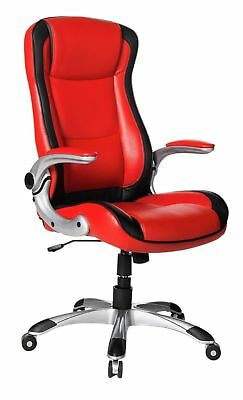 Used Dexter Height Adjustable Office Chair - Red HR10.