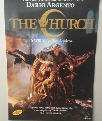 THE CHURCH video poster 42cm x 59cm