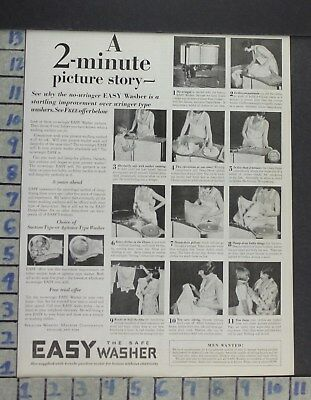 1929 Home Decor Laundry Room Easy Washer Machine Cleaning Vintage Ad Cp6