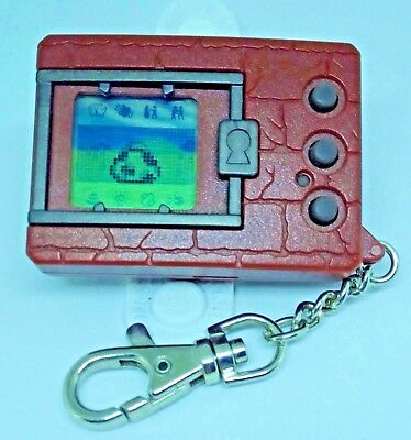 Digimon Brown Japanese ver.1 1997 vintage virtual pet Tested and Working