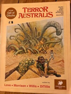 Call of Cthulhu - Terror Australis book. Used condition. ROLE PLAYING RPG