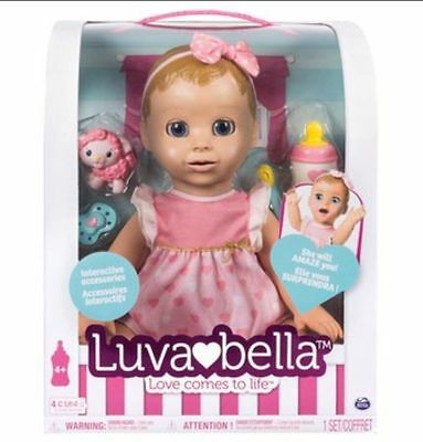 Luvabella Blonde Doll **SOLD OUT** IN HAND WILL POST ASAP