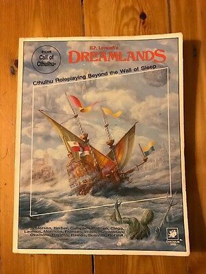 Dreamlands HP Lovecraft Roleplaying RPG Call of Cthulhu