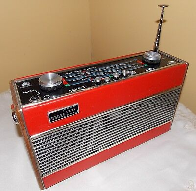 "Roberts R600 Transistor Radio ""British Wireless for the Blind Fund"" 1960s - 70s"
