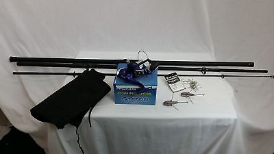 Sea Fishing Kit ,13' Beachcaster Surf Rod  + 7000 Surf Reel + Line Weights Etc