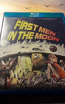 BLU-RAY: First Men In The Moon (Ray Harryhausen) - Twilight Time - OOP - Limited