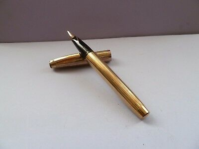 Sheaffer Imperial USA Gold Plated 14 K Gold Nib Superb