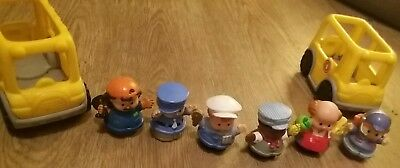 Litte People bundle figures and vehicles fisher price