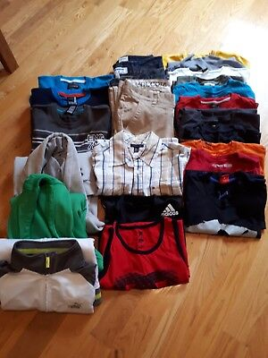 Lot of brand name boys clothes size 14-16 years Volcom, Etnies, DC, Quiksilver
